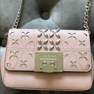 NWOT - Michael Kors Pink Crossbody Bag